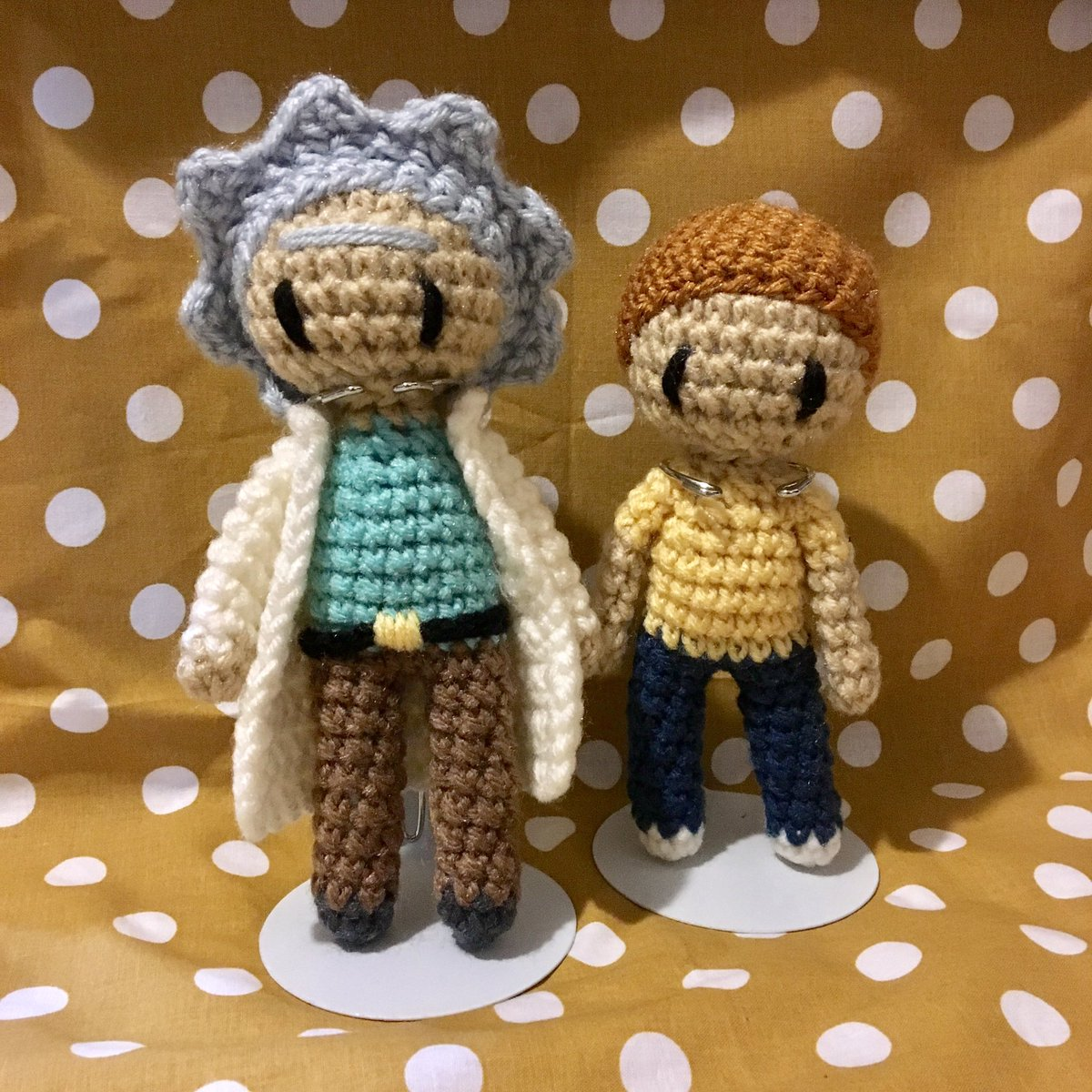 Rick and Morty Rick Sanchez Amigurumi by crushed88 on Etsy ... | 1200x1200