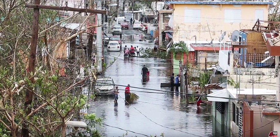 3.5 million Americans face disease &amp; death in Puerto Rico. What the hell is Trump doing?  https:// buff.ly/2xqVeVe  &nbsp;   #IRMA is #Trump&#39;s #Katrina<br>http://pic.twitter.com/TblFz9sTHg