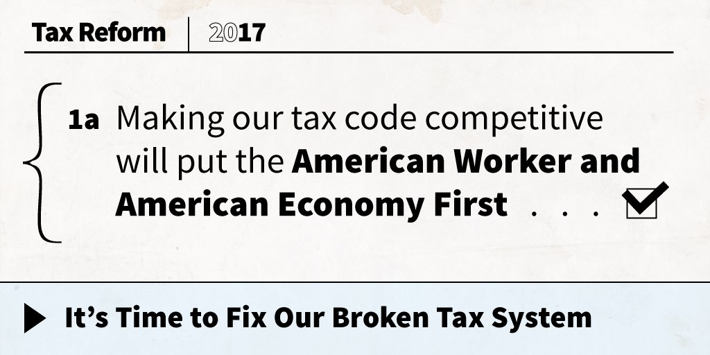 Americans are united in support of President Trump's tax reform agenda. Read more: https://t.co/3OWe3tQpSn https://t.co/GNFnojAEnB
