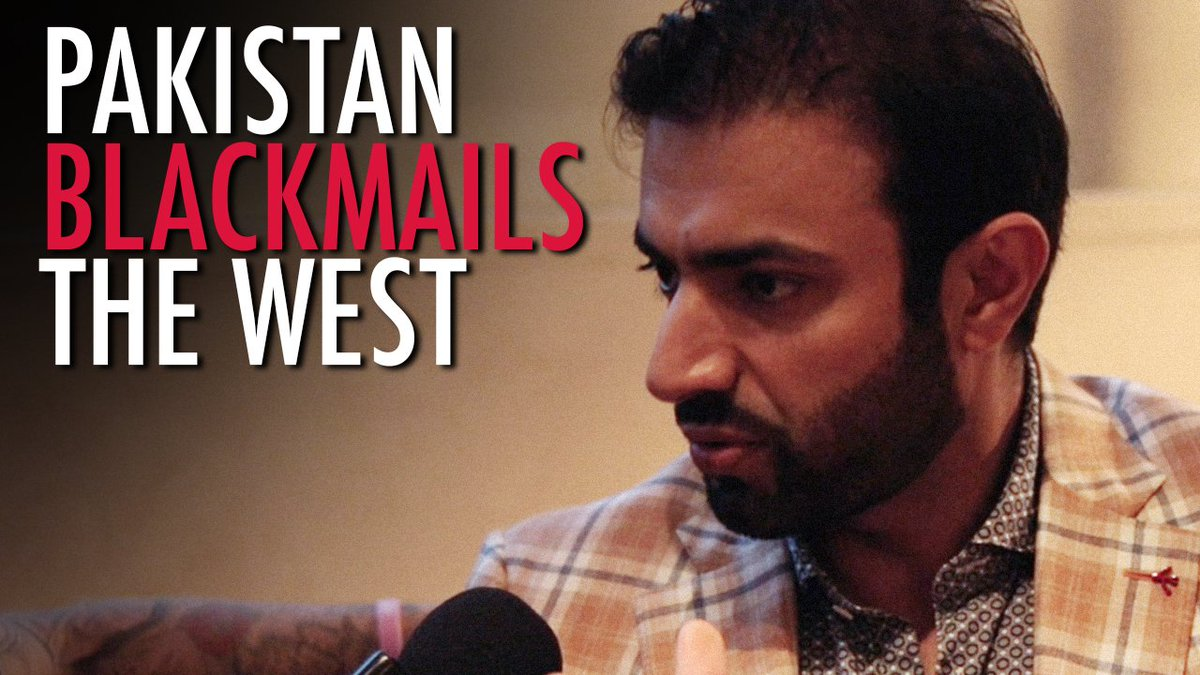 """#Pakistan is using aid to blackmail the West,"" Baloch Party President warns @TRobinsonNewEra —  https://www. therebel.media/_pakistan_usin g_aid_to_blackmail_the_west_baloch_party_president_to_tommy_robinson &nbsp; …  