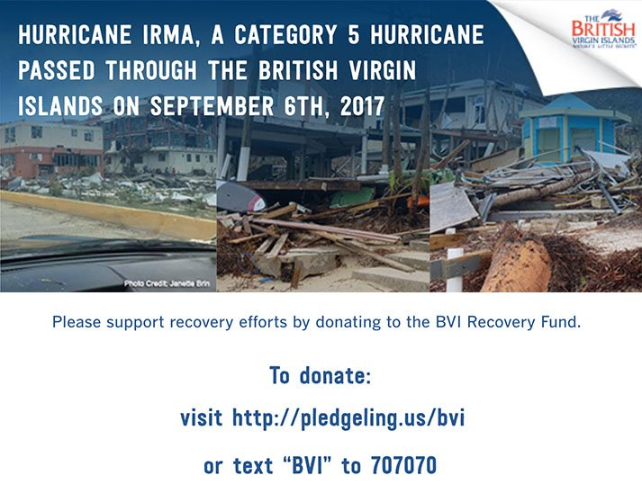 You can support the @BritishVirginIs and their recovery efforts by donating to the BVI Recovery Fund. #irma #IrmaRecovery <br>http://pic.twitter.com/8Jo8CpdoMc