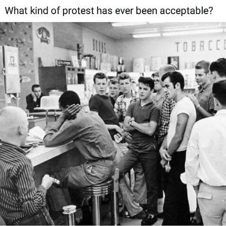 How quickly we forget. #Donald #Trump #DonaldTrump #RosaParks #NFL #Football #Kapaernick  #ColinKaepernick #NationalAnthem #SocialInjustice<br>http://pic.twitter.com/AU12EDQAal
