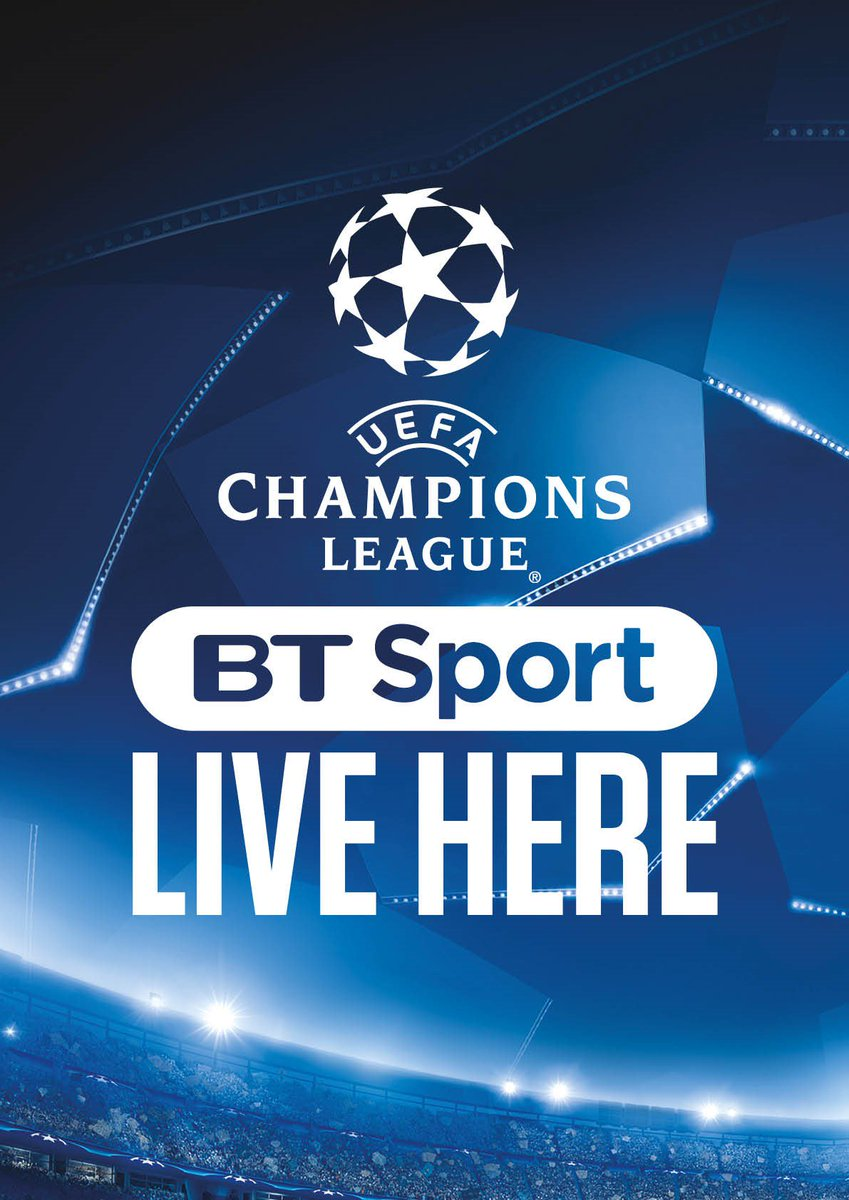 Now showing live sports daily #BTSports #ChampionsLeague #EuropaLeague <br>http://pic.twitter.com/4RJFvANjNl