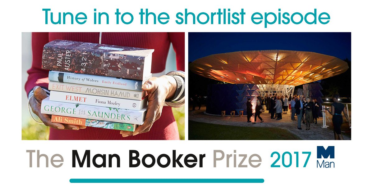 👂LISTEN: The #ManBooker2017 shortlist podcast is out now at https://t....
