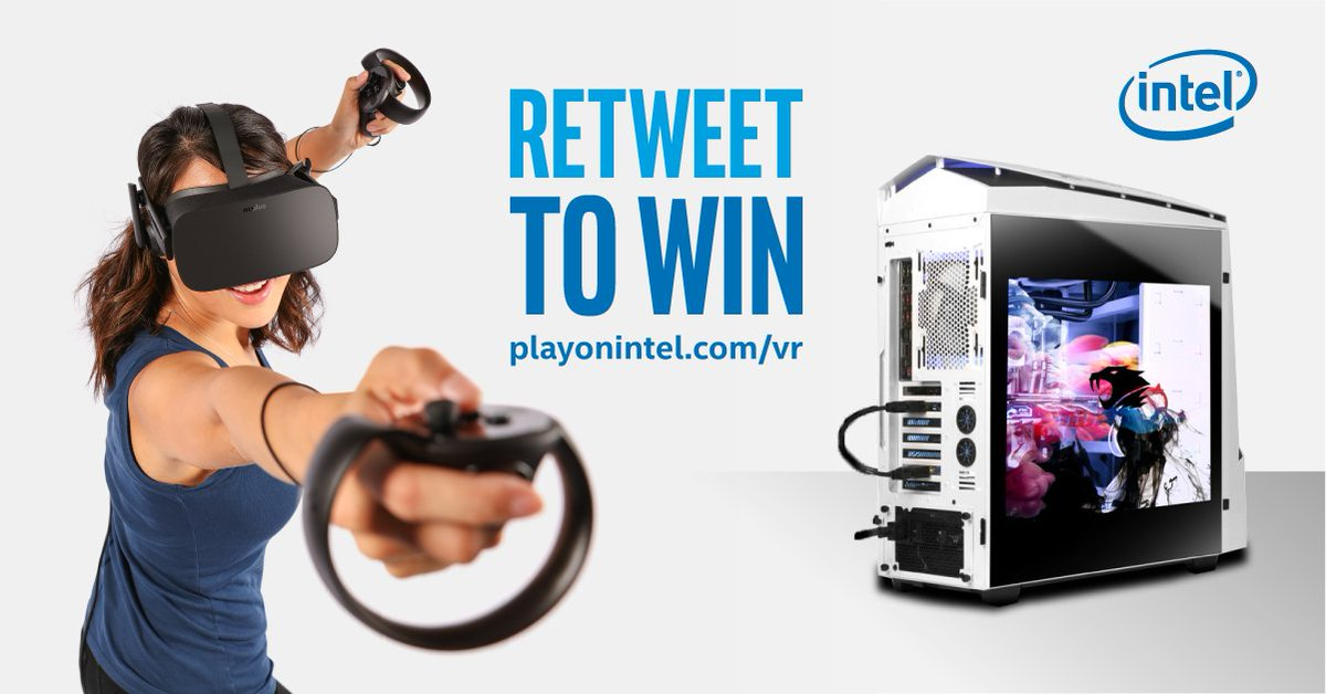 RT to enter the @VRChallenger League #Contest. Grand prize: An #Intel-based PC &amp; @Oculus #VR package. Ends 10/01 <br>http://pic.twitter.com/BInYQlDVSQ