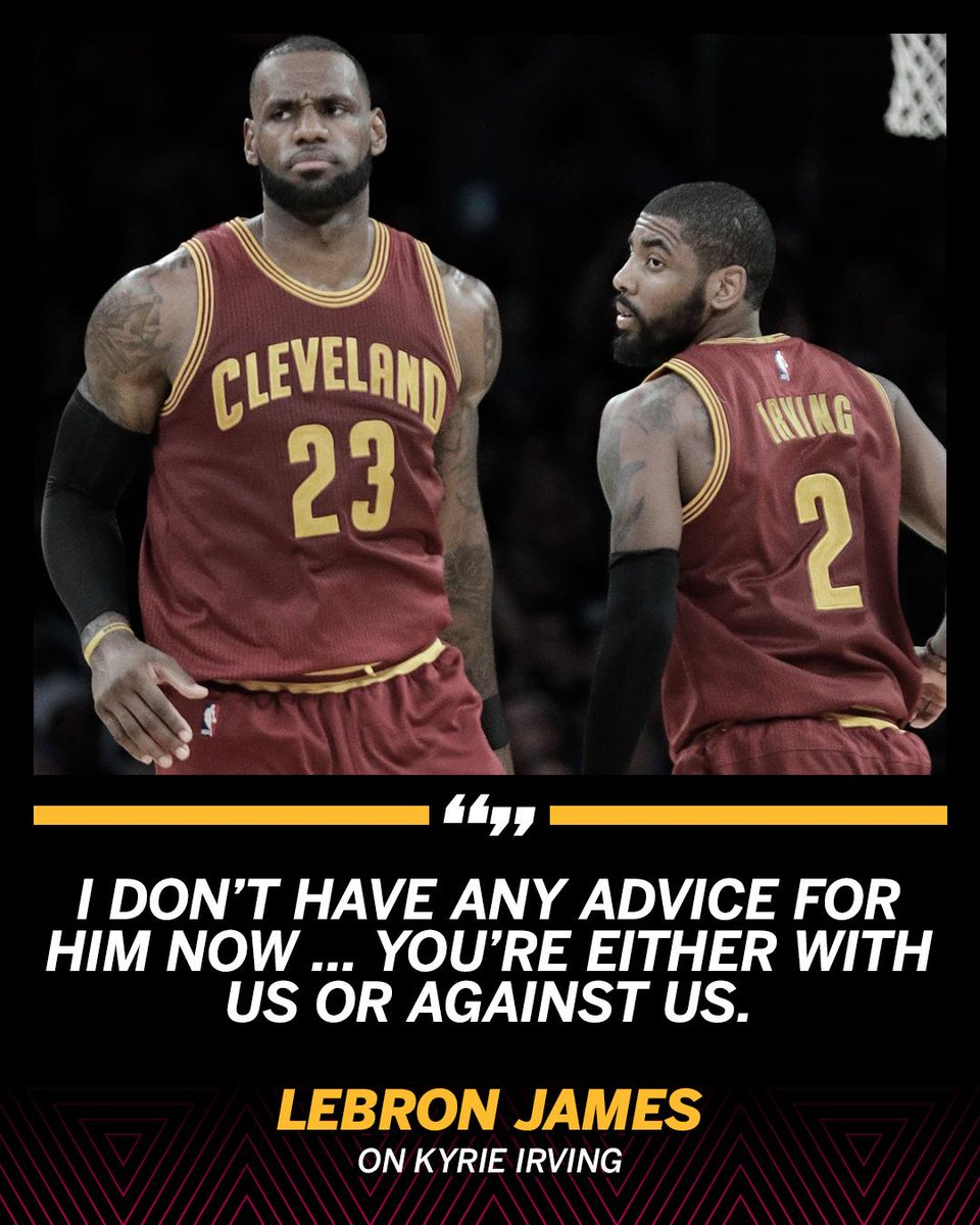 b149a2a9e04 looking for advice from lebron you d better be wearing a cavs jersey