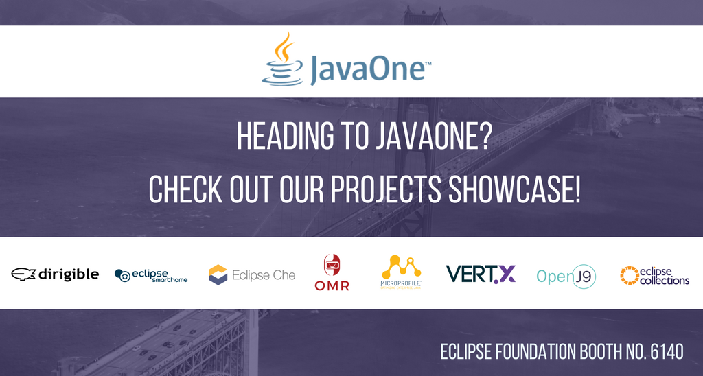 Next week we will be at @JavaOneConf showcasing our open source community for Java developers. Come say hi! #opensource #eclipsefdn #java<br>http://pic.twitter.com/TmEv5uGH3w