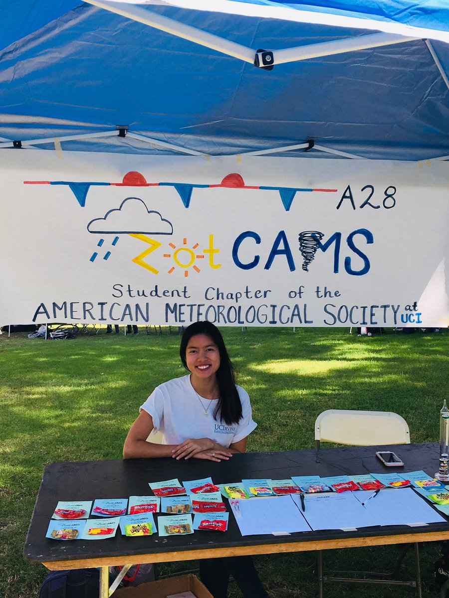Stop by our @zotCAMS booth at the @UCIrvine Involvement Fair from 11-4pm. We're a new student org interested in #weather and #climate! <br>http://pic.twitter.com/q8ZNzn8gAl