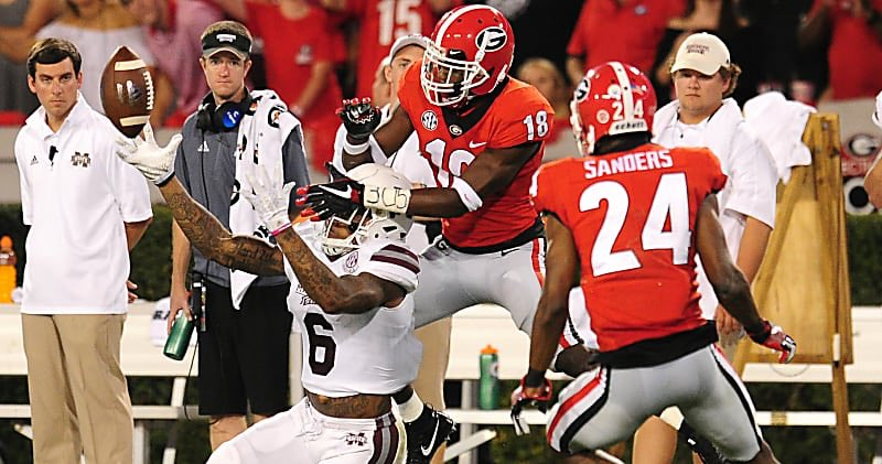 #UGA makes a jump to #7 in the latest AP Poll. #GoDawgs<br>http://pic.twitter.com/yzBze4zG7s