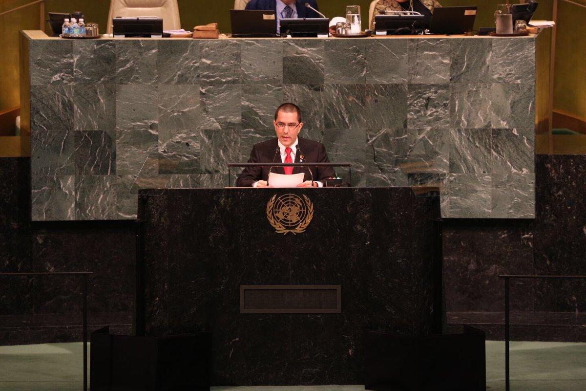 ONU  Venezuela impulsa el diálogo para p...