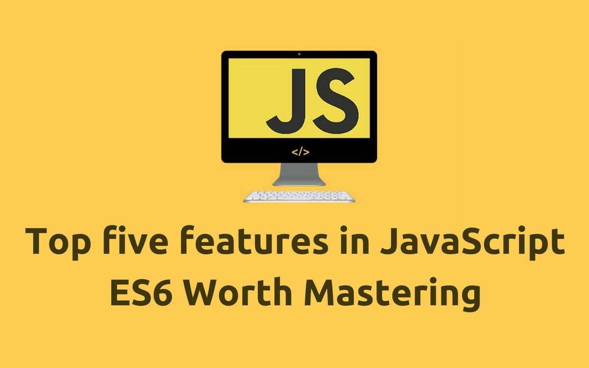 Top five features in #JavaScript #ES6 Worth Mastering  http://www. javascriptkit.com/javatutors/jav ascript-es6-top-five.shtml &nbsp; …  #js #nodejs #angular #React #webdev #FrontEnd #programming<br>http://pic.twitter.com/jHWOK16v5R