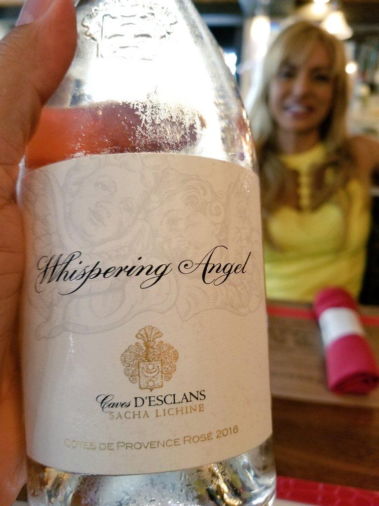 Having @WhisperingAngel with @GambinoFashion, today&#39;s liquid lunch tastes quite good! #LuxuryTravel #BocaRaton #Florida #Wine<br>http://pic.twitter.com/sbmWIAfqp7