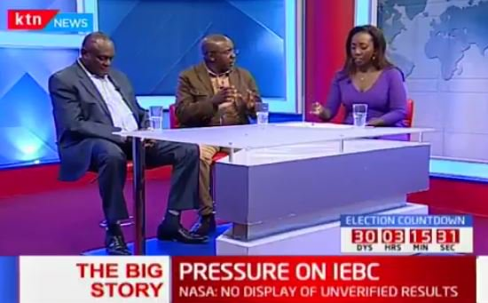 Joseph Simekha: 'GEMA business community has invited their Kalenjin brothers to come and counter protests. It's their right'  #TheBigStory