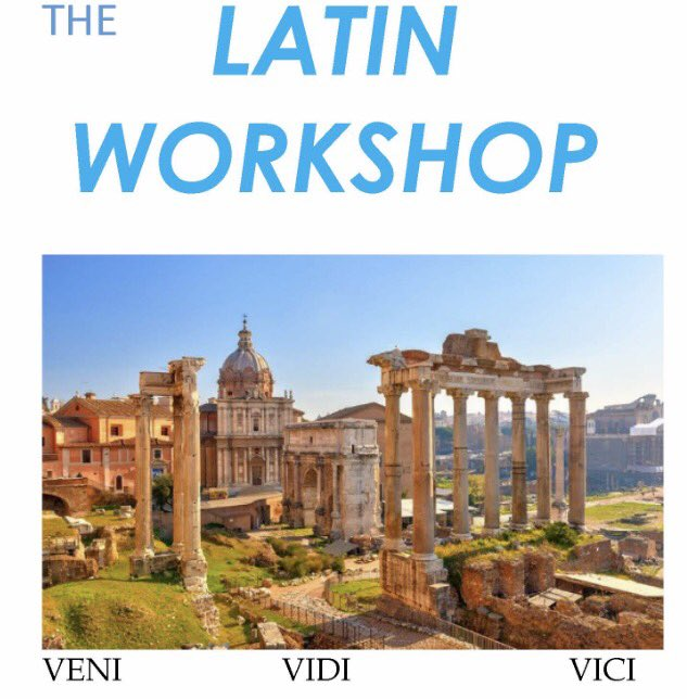 Tomorrow&#39;s language workshop is #Latin @WyeClassics @WyedeanSchool #EuropeanDayofLanguages @BritishCouncil @SWclassicshub @classicsforall<br>http://pic.twitter.com/OlZoex4NAm