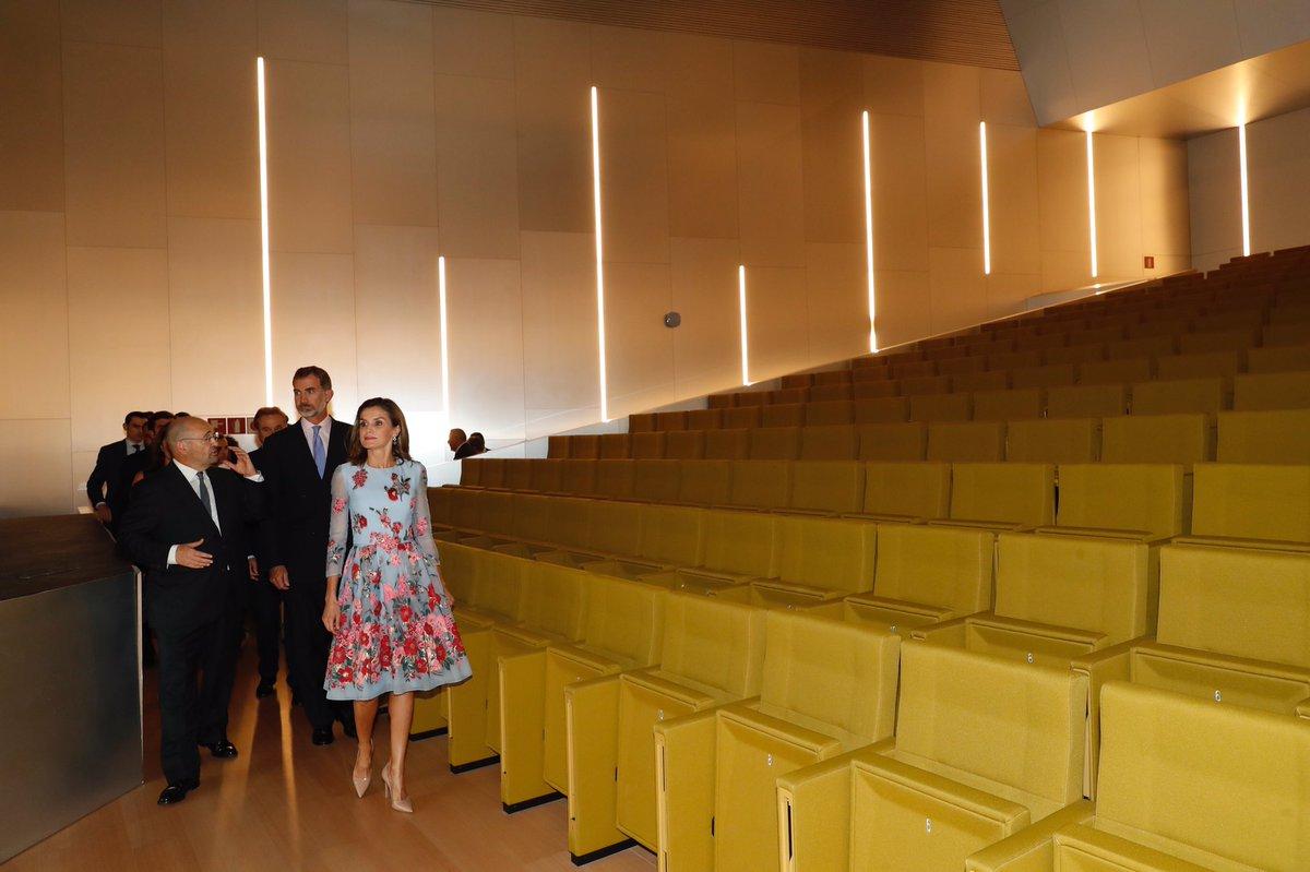 Королевская чета Испании открыла новый Дворец Конгрессов Пальмы