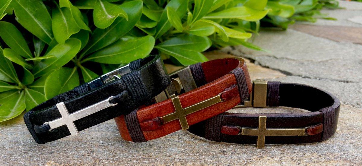 Personalized Cross Bracelet, Confirmation Bracelet, Custom Leather Bracelet, Confirmation  https:// seethis.co/KmkaAp/  &nbsp;   #mensstyle  #etsygift<br>http://pic.twitter.com/WvrpXo4Dkf