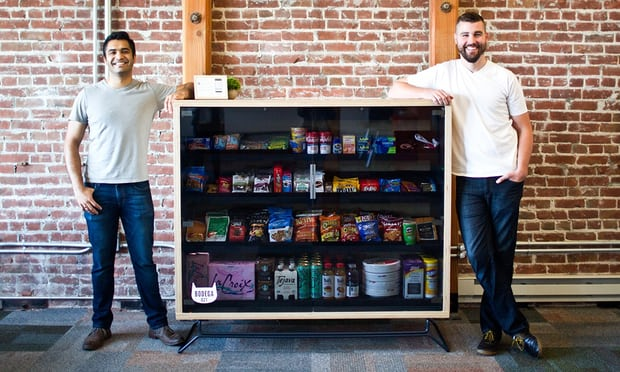 When you&#39;ve just invented the vending machine. Again. And people are mad!  http:// ow.ly/XtyQ30ficuP  &nbsp;   #technology #bodega #news #business #food<br>http://pic.twitter.com/jo6ok3eFxI