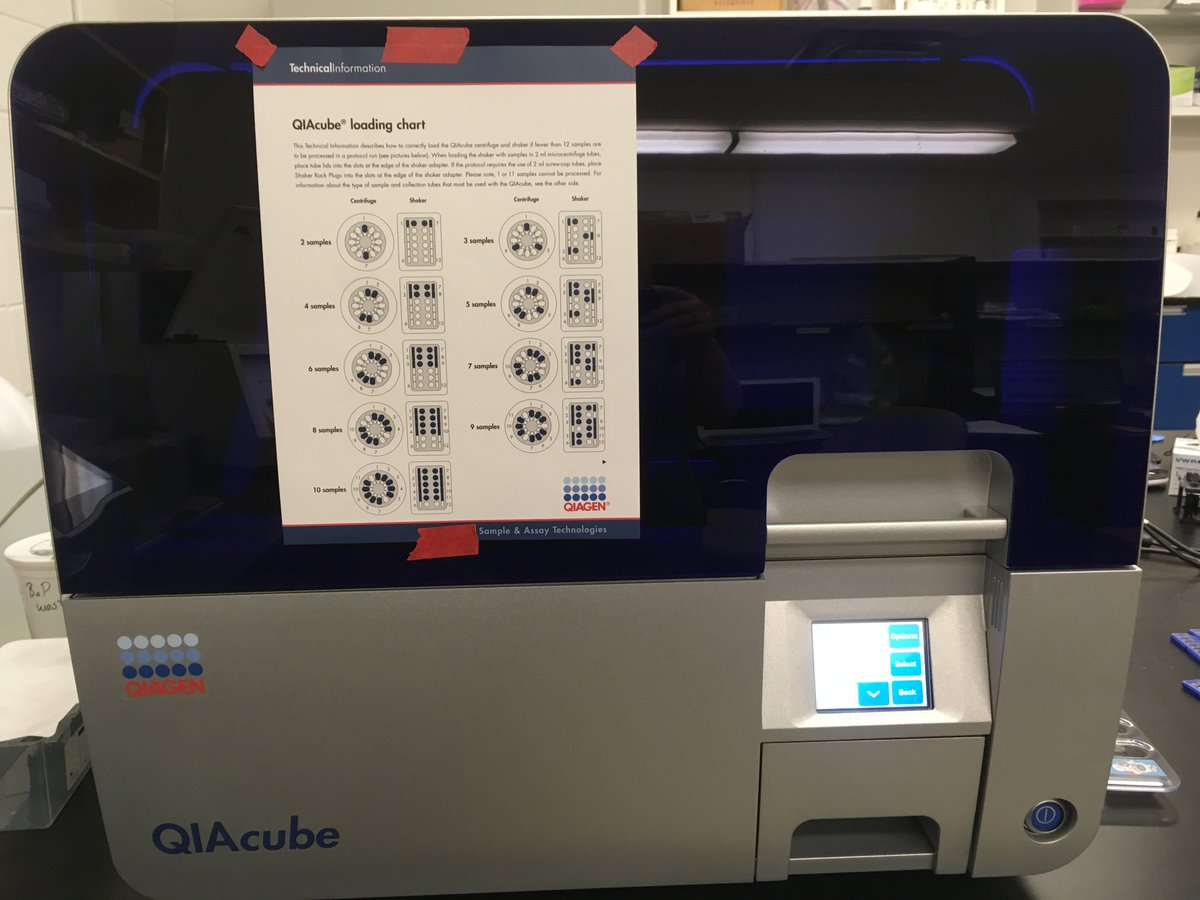 Ecotoxchip On Twitter Cheers To Automated Rna Isolation Qiacube Qiagen
