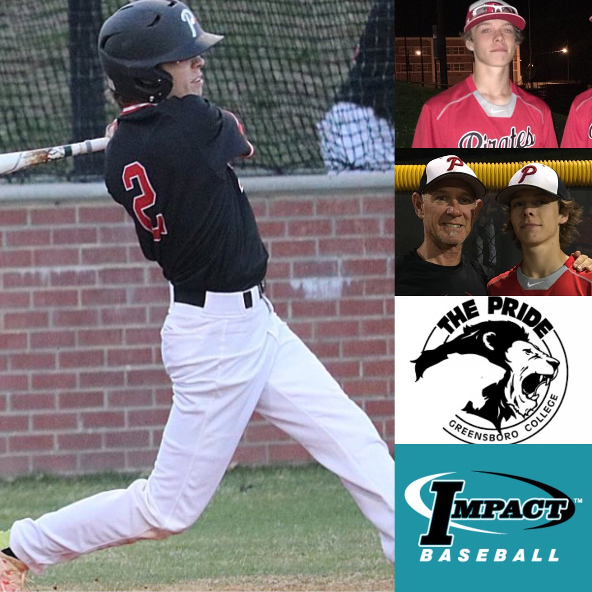 Congratulations Luke Pegram (2018 Page High School OF) on his commitment to Greensboro College! #impact <br>http://pic.twitter.com/iKUhCBeXUi