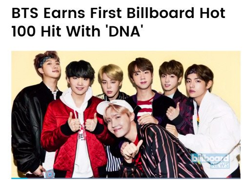 #BTS debuts at 85th rank on Billboard Hot 100 Chart with #DNA from #LOVE_YOURSELF &#39;承 Her&#39;  http:// naver.me/Ga0SrOrj  &nbsp;   #KoreanUpdates RZ<br>http://pic.twitter.com/u9lrizNDZ9