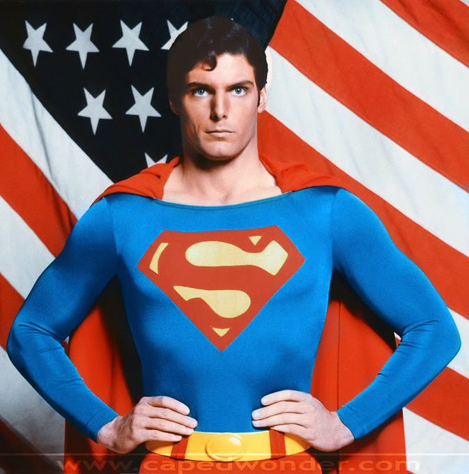 Happy Birthday to Christopher Reeve (RIP), he would have been 65. You will always be Superman, Christopher.