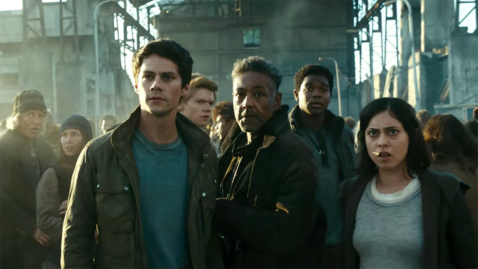 #MazeRunnerDeathCure: @dylanobrien returns to franchise in first trailer (Watch) https://t.co/dtYEUs7K5C https://t.co/u4ZrElA1kk