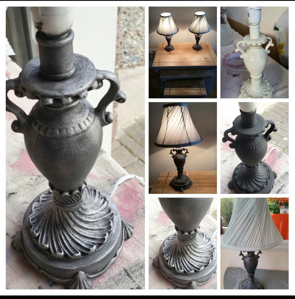 #Recycleweek more #upcycled lamps bought for 99p each in charity shop #barhsins little bit of imagination and voila <br>http://pic.twitter.com/zGja8pI0Ql