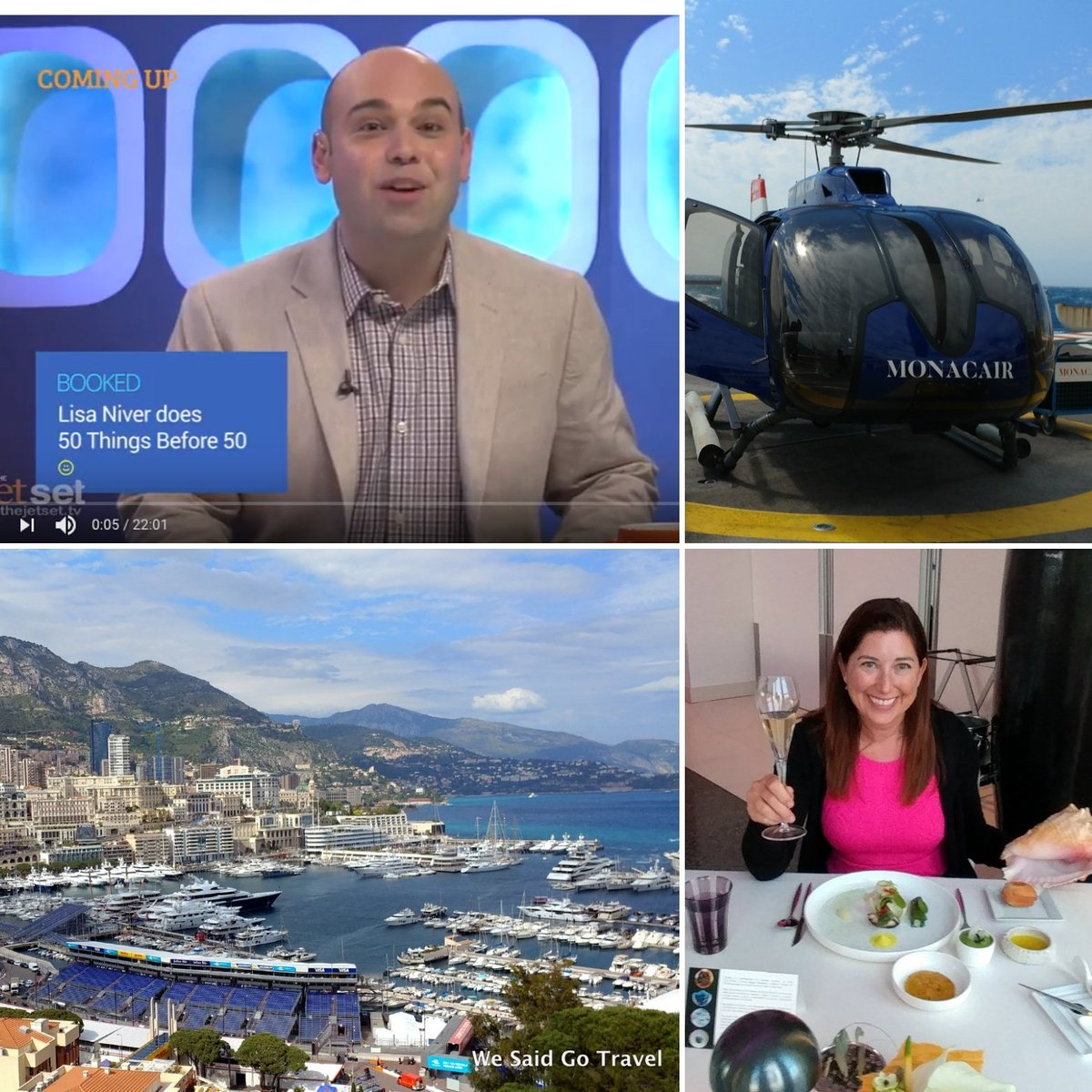 Join me for Episode 17 @TheJetSetTV in #Monaco! Watch now: http:// wesaidgotravel.com/tvmonaco  &nbsp;   #visitmonaco @fia #formulaE #thejetsettv #travel<br>http://pic.twitter.com/x8bZ8BF4ho