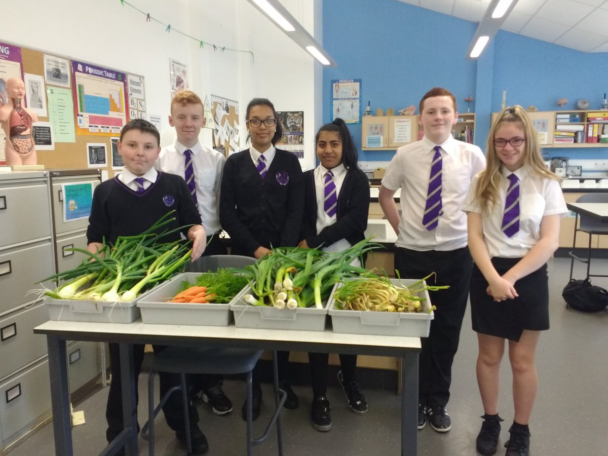 Our S3 scientists are looking proud of their crops! What will we make with @ClydeviewHomeEc next?  #science #Sustainability @clydeview_a<br>http://pic.twitter.com/qVprY2WSoj