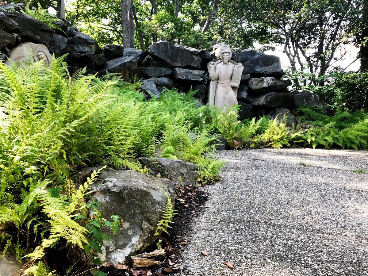 One of the hidden gems of campus, this spot creates its own little world and is perfect for studying on a nice day! #UNE #garden<br>http://pic.twitter.com/P81lcWimWF