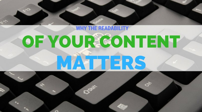 Why does the #readability of your #content matter? [Infographic] -  http:// bit.ly/2lmDMLc  &nbsp;  <br>http://pic.twitter.com/q8mhyi9lDl