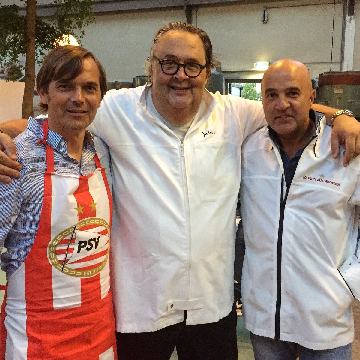 cooking with @phillipcocu8 and #@johnvandenheuvel with @psv selection @dekookfabriek #eindhoven <br>http://pic.twitter.com/YW0IvPP5ki