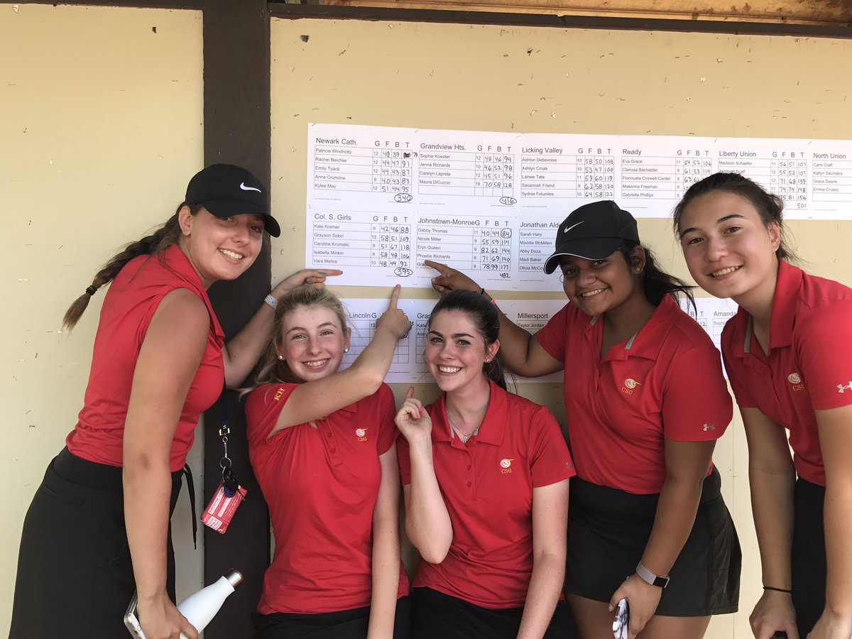 Congrats Ladies!! Finished second today at sectionals moving on to districts next Monday @CSG_Athletics #BelieveInYourself #hardworkpaysoff <br>http://pic.twitter.com/15kYqzs1i2