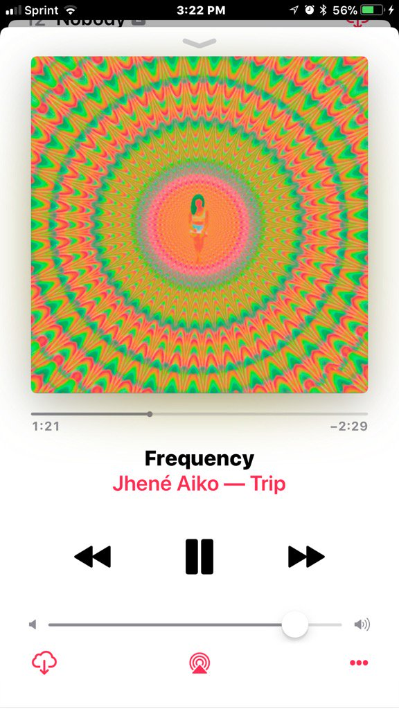 On repeat @JheneAiko  #TRIP #Frequency <br>http://pic.twitter.com/C9oCOJCfTh