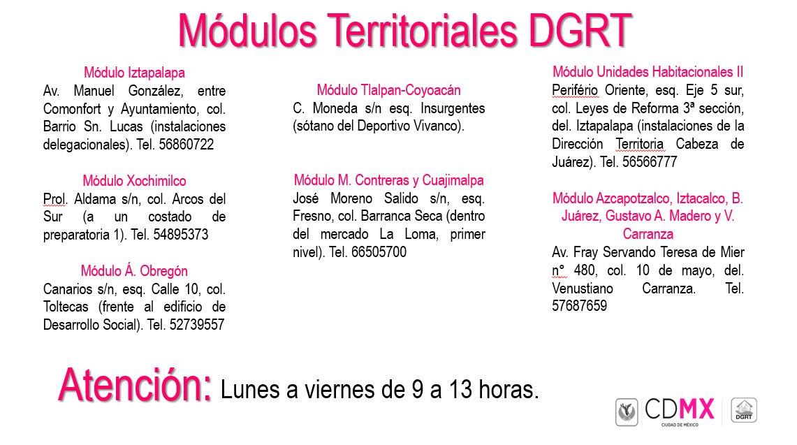 Dirección General De Regularización Territorial On Twitter