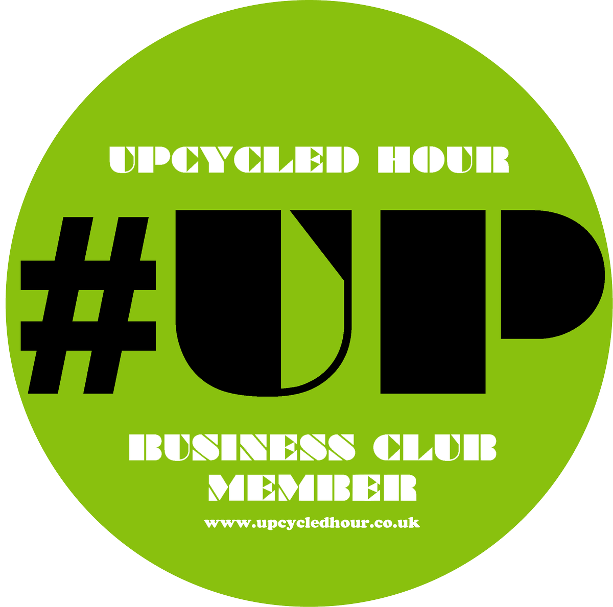 Watch out for the #UpcycledHour #BusinessClub logo ... #elevatingupcycling #strivingforexcellence #creativecommunity #upcycling #upcycled <br>http://pic.twitter.com/267OIzAEMb