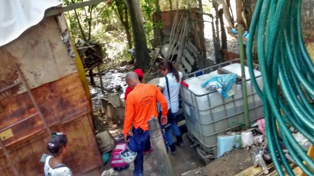 @PCADMiranda Reportan cinco viviendas af...