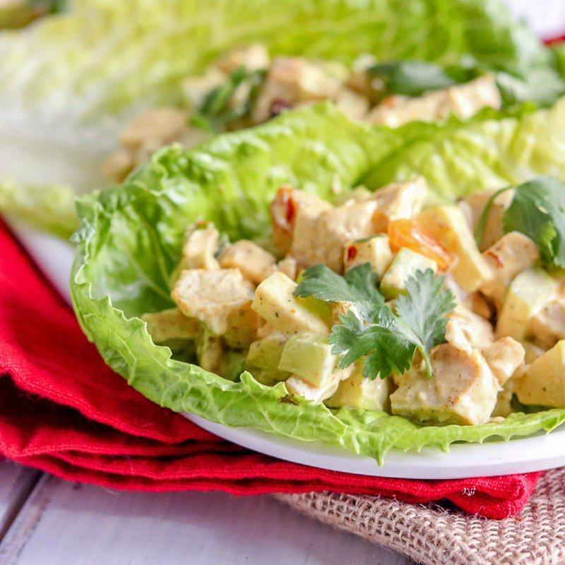 Crunchy Curried Chicken Salad-w tart apples, sweet raisins &amp; finished w cilantro #recipe #kyleecooks  http:// bit.ly/2qtgsyJ  &nbsp;  <br>http://pic.twitter.com/mYAjGZNhC0