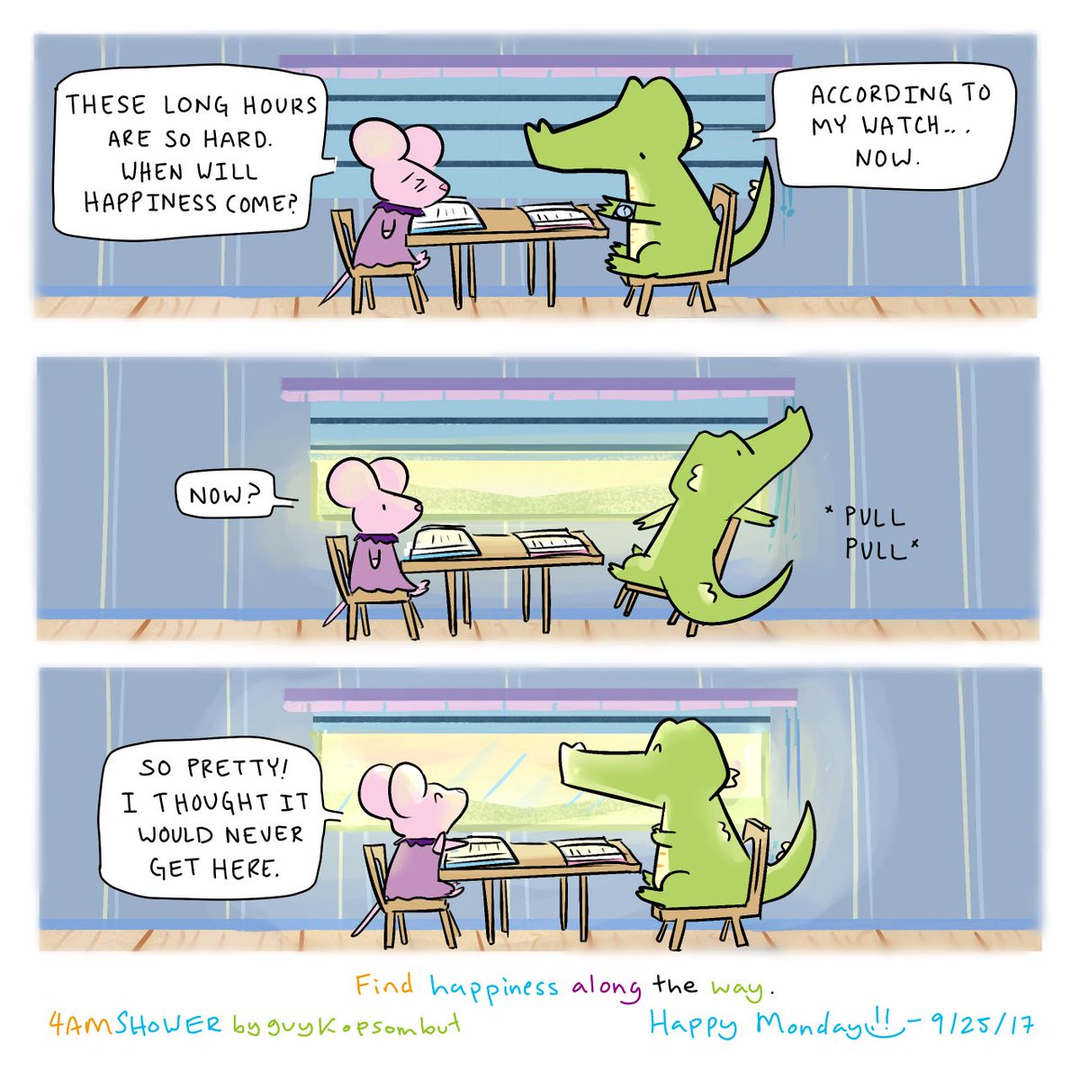 Unblinded.  #happy #cute #art #sketch #sketchaday #illustrations #doodle #aww #friends #funny #memes #depression #comics #love #scbwi<br>http://pic.twitter.com/0EaEwZMfIa