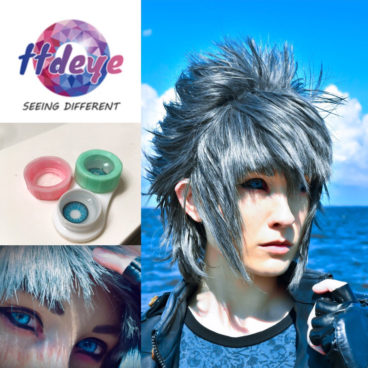 Just in case anyone needs some lenses, I currently have a 10% off code with ttdye code: ILcosplay   #cosplay #ffxv #ttdye #contacts <br>http://pic.twitter.com/pKWk2nnpht