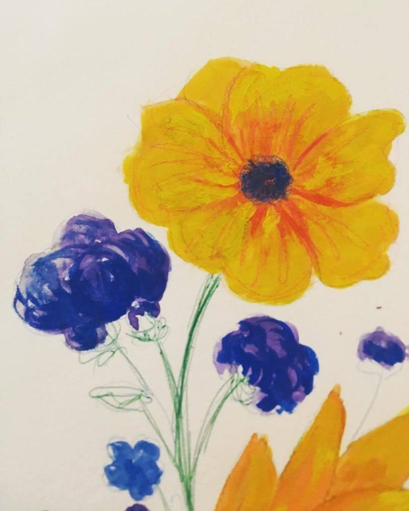 Gouache is still weird &amp; I&#39;m still not used to it. • #Day224 #DailyDoodle #Watercolor #artsy #artist #artwork #pai…  http:// ift.tt/2fNx7FS  &nbsp;  <br>http://pic.twitter.com/idJtpdqQwr