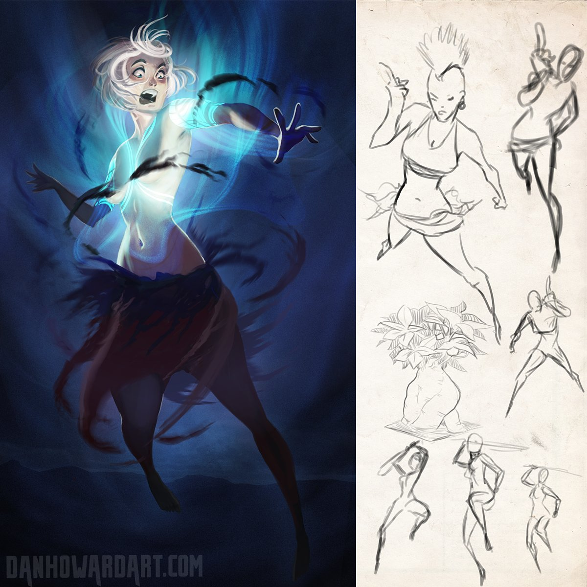 failed concepts and sketches:  #art #drawing #illustration #digitalart #danhowardart<br>http://pic.twitter.com/3ZX0SVAtRR