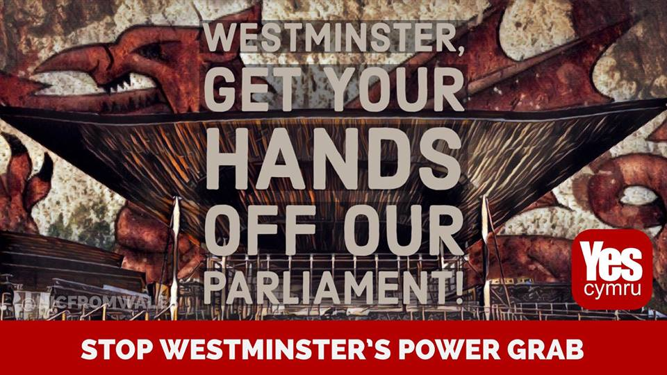 Westminster, Get your hands off our Parliament!  #IndyWales #Wales #Cymru<br>http://pic.twitter.com/X3TcSjD0Rb