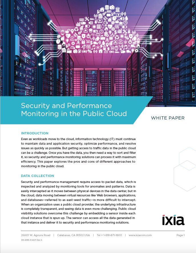 Moving to the cloud? Businesses must adjust strategies for accessing security and monitoring traffic data.  https:// hubs.ly/H08KLGF0  &nbsp;   #Ixiacom <br>http://pic.twitter.com/W40qo1eXOO