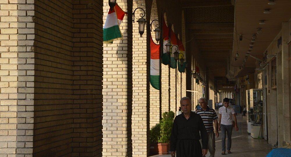 Erbil'deki Hristiyanlar bağımsızlık için...