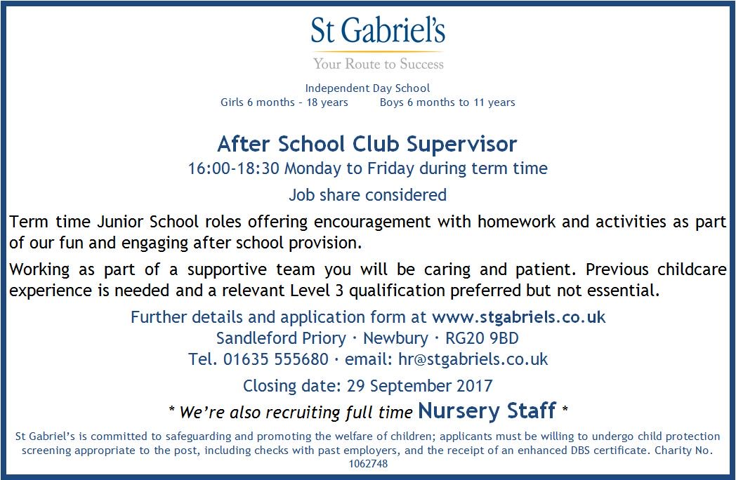St Gabriel S School On Twitter Details Of Our Cur