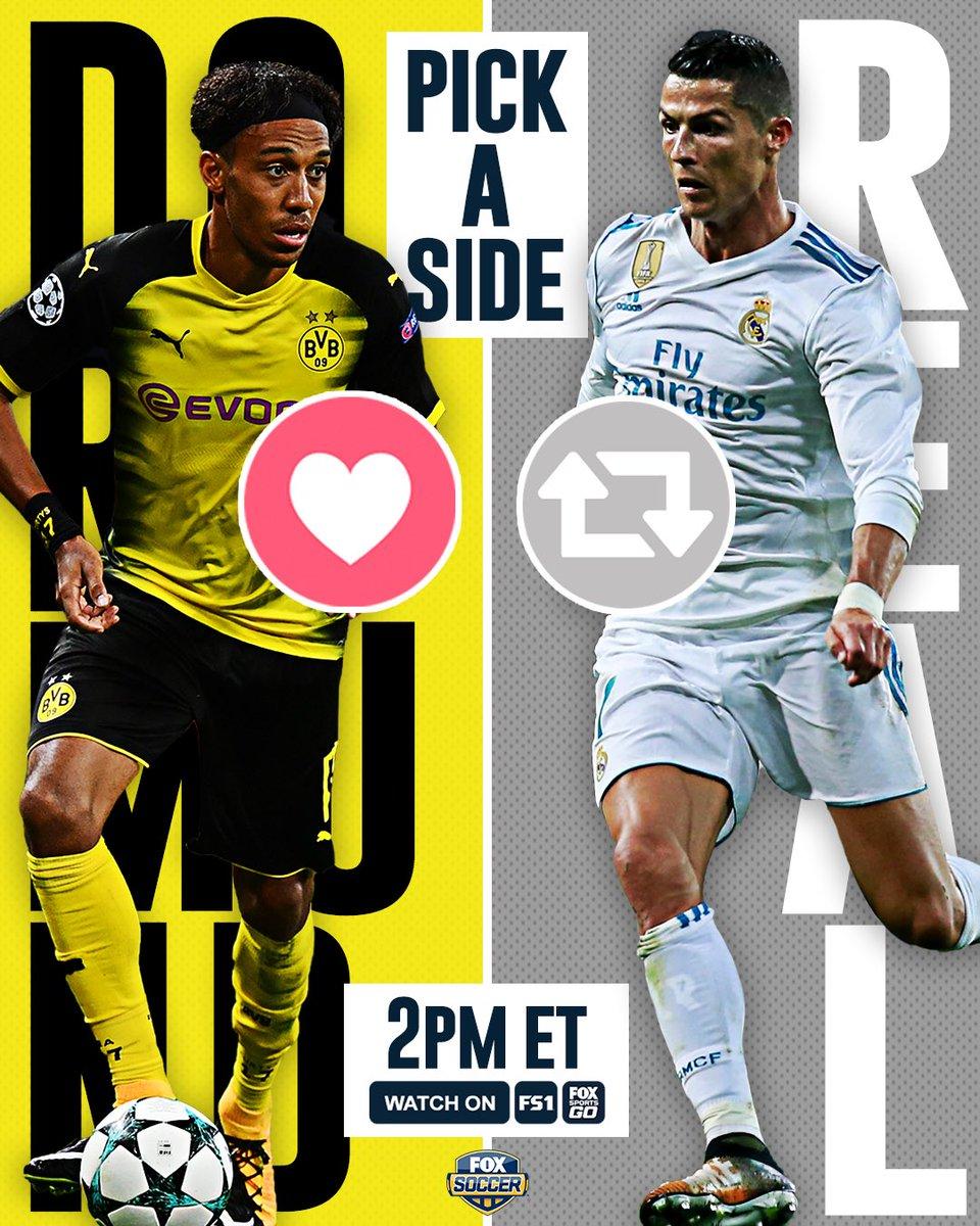 Dortmund are flying in the Bundesliga. Real Madrid are struggling in S...