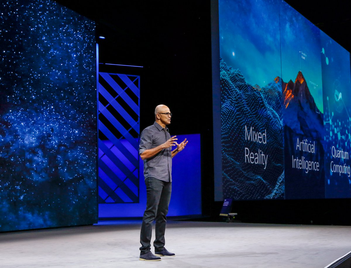 A detailed look at CEO @SatyaNadella's #MSIgnite keynote from this mor...