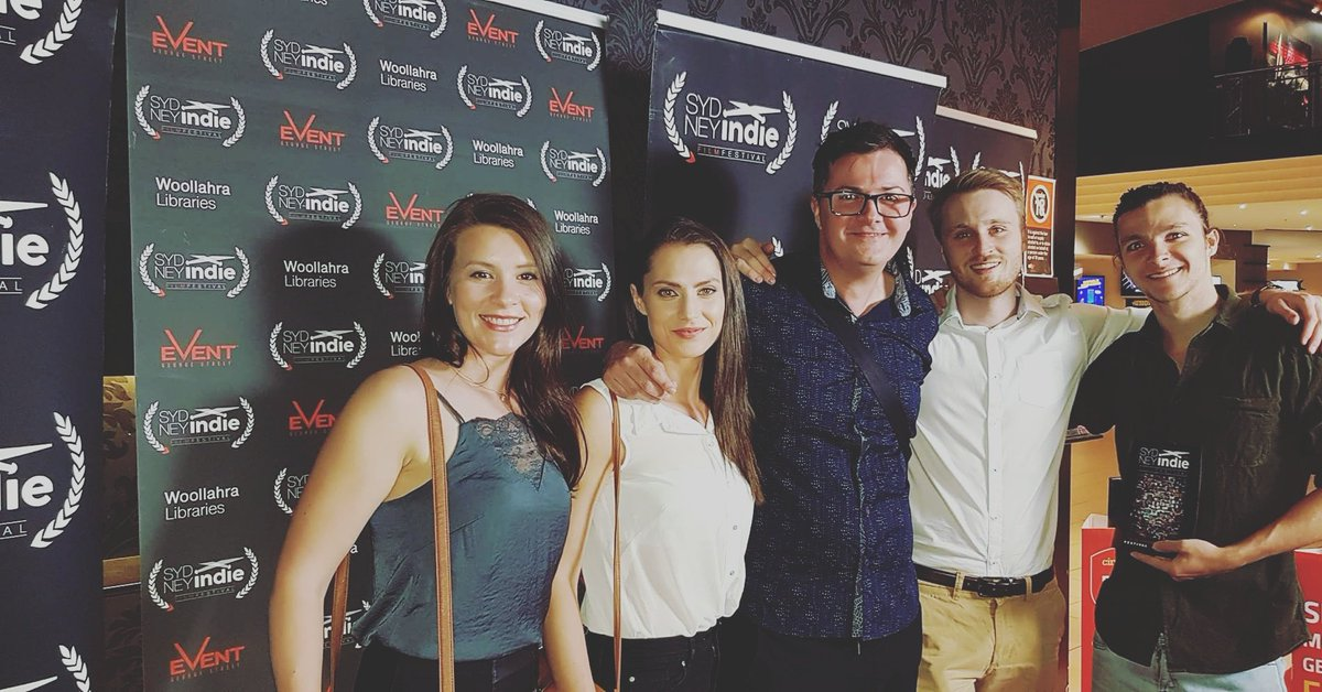 Amazing night with our Shiver cast at the @sydneyindiefest #indie #film #actor #director #Sydney #festival @rosiekeoghactor @KietonBeilby<br>http://pic.twitter.com/5c1WfGLaRP