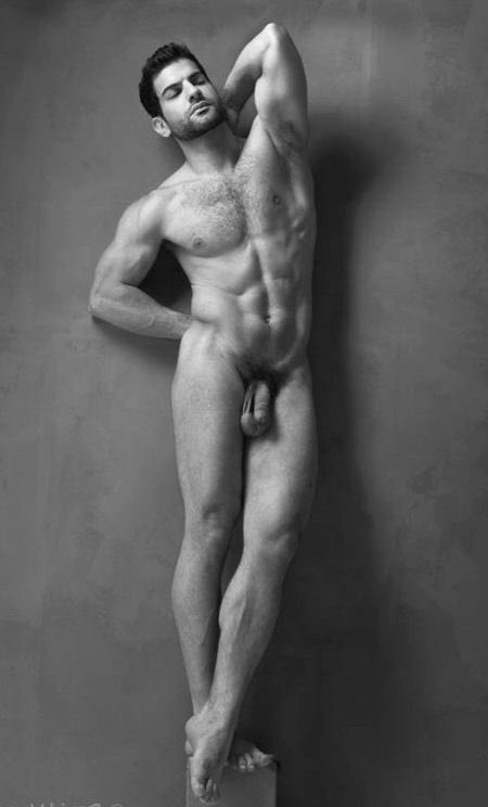 Nude male models